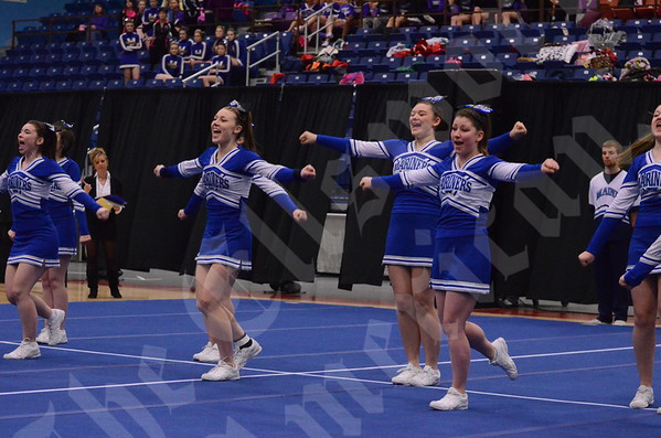 State Cheering Competition; 2/8