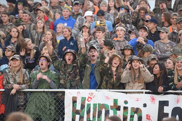 Student Crowd at Seward Football Game