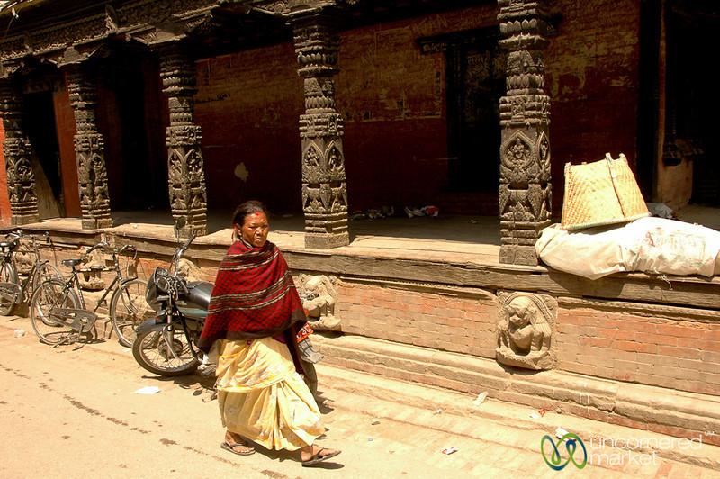 Walking Through Patan - Nepal