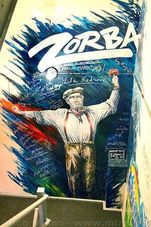 Fox Backstage Murals