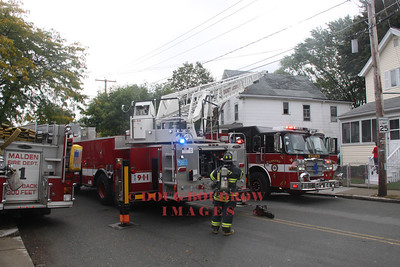 Malden, MA - Working Fire, 305 Lynn Street, 9-24-11