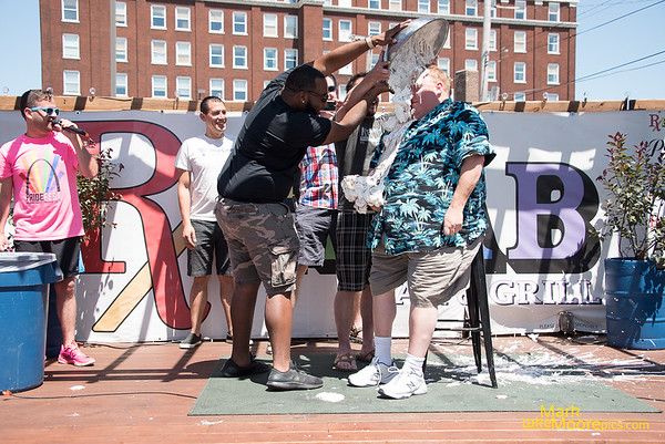 In Yer Face Pie Throwing Fundraiser