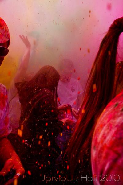 Crowd Shots - Holi 2010