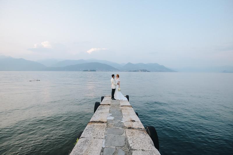 Sheena & Farshad, Stresa, Italy