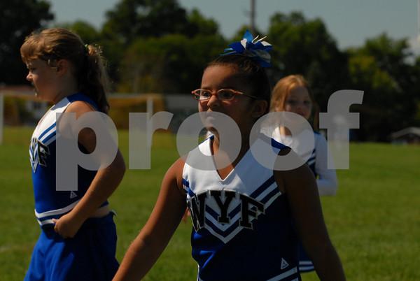 Lightning Panthers vs Goshen-Cheer - 9-13-09 edit