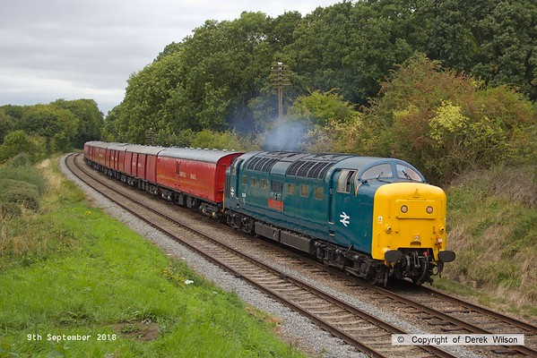 2018, 9th September, Great Central Railway Autumn Diesel Gala
