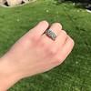 2.10ct Art Deco Peruzzi Cut Diamond Ring, GIA W-X SI2 37