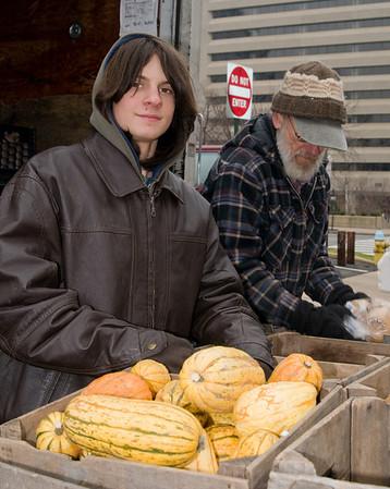Arlington Farmers Market - My 'Faces' Project for CDIA-Boston University