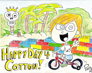 Cotton's 4th Birthday