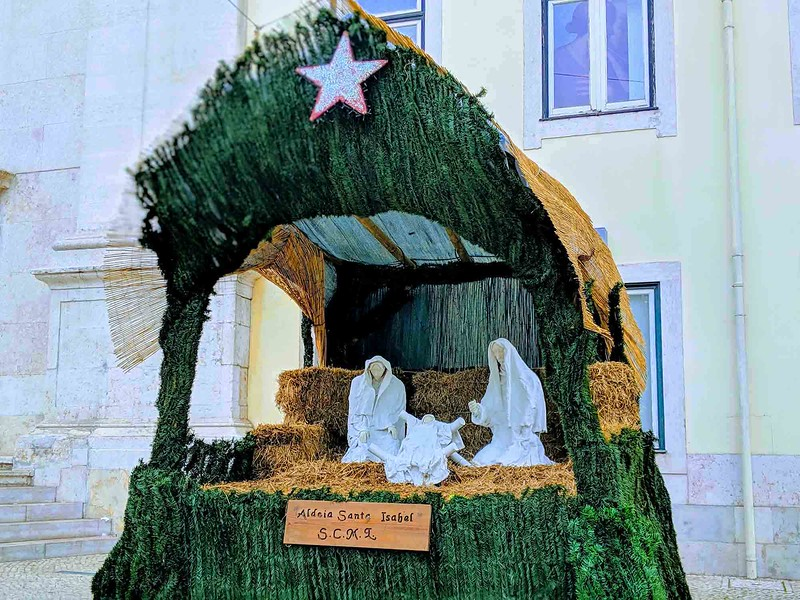 portugal nativity scene