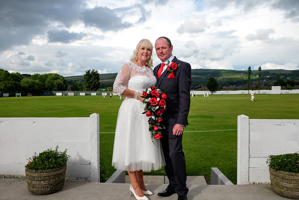 Linda and Andrew - Crompton Cricket Club