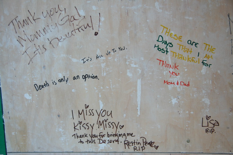 Messages in the Temple of Transition