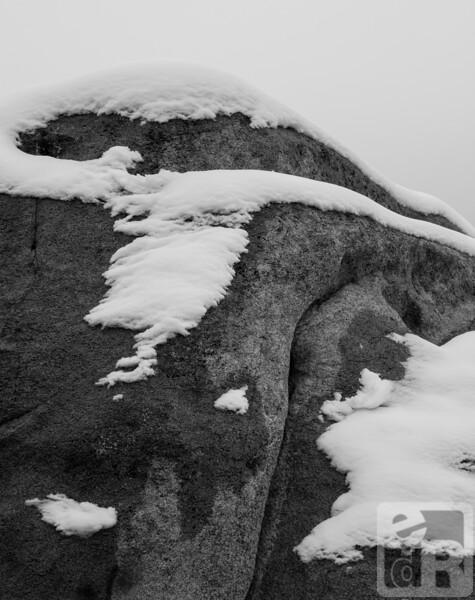 Snow and Joshua Tree Rock Textures