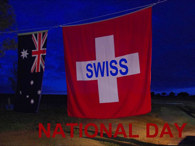 Swiss National Day in Canberra