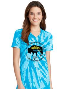 Buffstock Women's Shirt - LPC147V Turquoise w-Logo.jpg