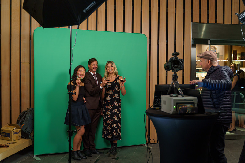 Sept 20th, 2019 - Opening of the Emily Carr Exhibition at the Audain Art Museum in Whistler BC. Greenscreen Smilestation photobooth by Scott Brammer Photography