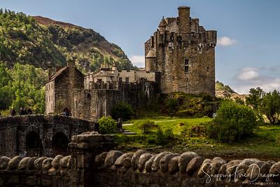 Eilean Donan Castle, Dornie, Kyle of Lochalsh, Scotland 5-2018