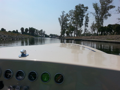 Water Skiing the Delta 7/29/13