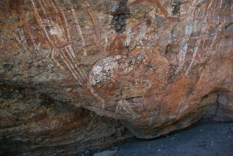 Rock Art 6, Anbangbang, Kakadu National Park - Northern Territory, Australia