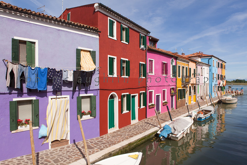 Good Day For Laundry , Burano , Veneto