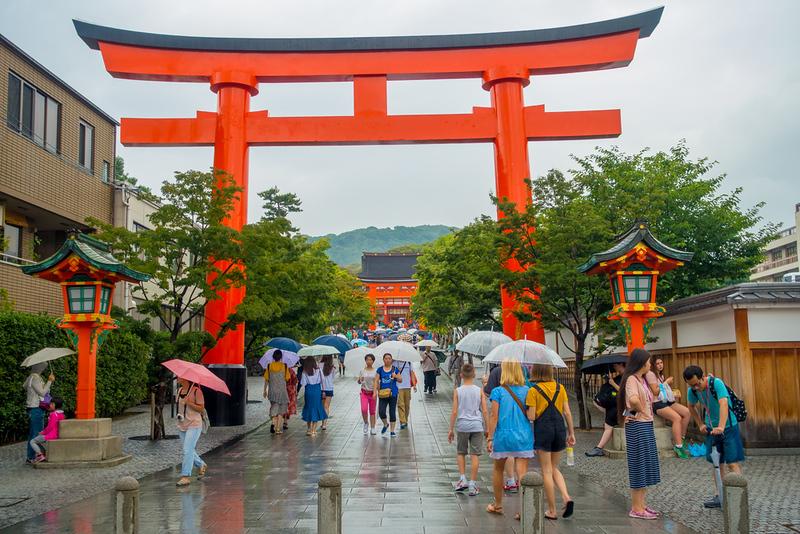 Fushimi Inari Temple. Editorial credit: Fotos593 / Shutterstock.com