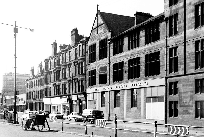 Pollokshaws Rd at the Toll.  
