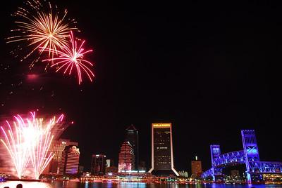 Jacksonville Fireworks