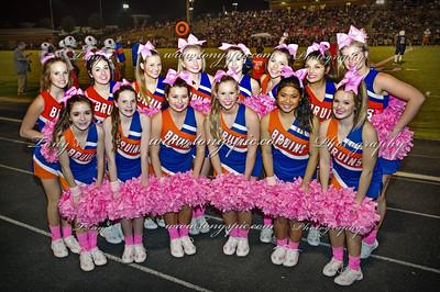 Cheerleaders at Heritage Game 7 oct 2016