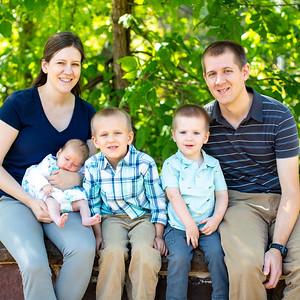 Kathryn & Arthur's Family Portraits