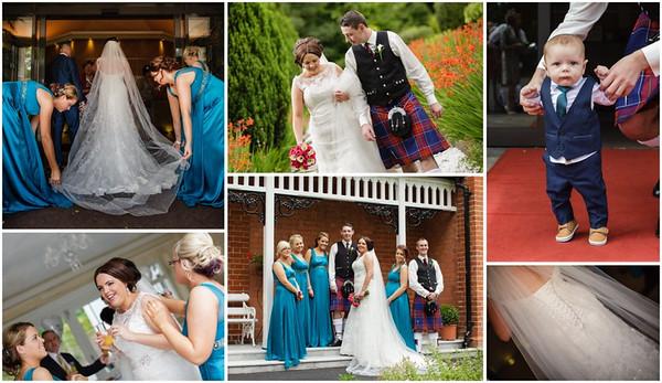 Amy & Ryan Ballymena Wedding Photographer