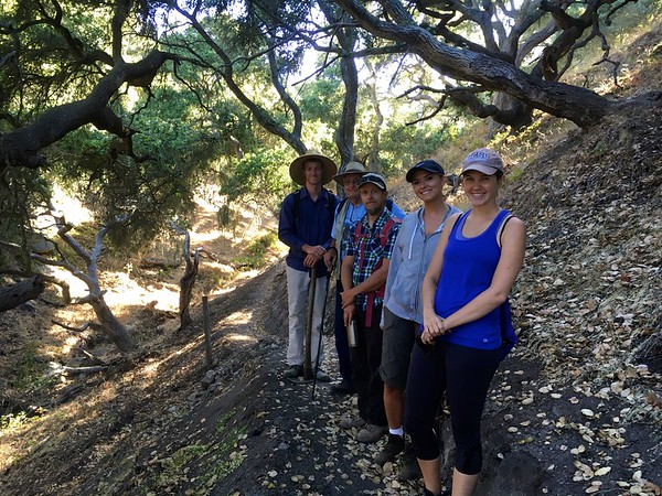 July 11,2016 tour of Vaminos Trail at the Pismo Preserve