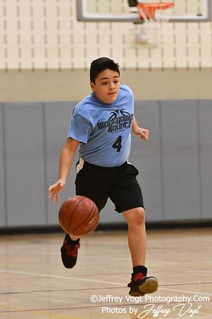 3/2/2019 6th Grade Montgomery County Recreation Basketball, Up County Rec Basketball Team Bucket Boys vs  Kimball at Plum Gar Recreation Center, Photos by Jeffrey Vogt Photography