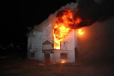 House Fire 6th and Iuka Pratt, KS (3/27/10)