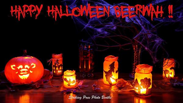 Beerwah Halloween Booth 2