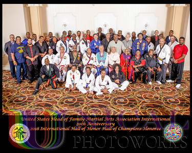 2018 USHOFMAA International Hall of Honor Hall of Champions, Induction Ceremony at the Clarion Hotel BWI Airport, Saturday , November  3, 2018