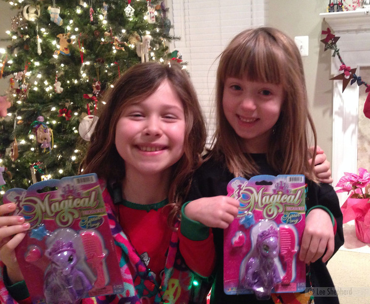 They bought each other the same gift!