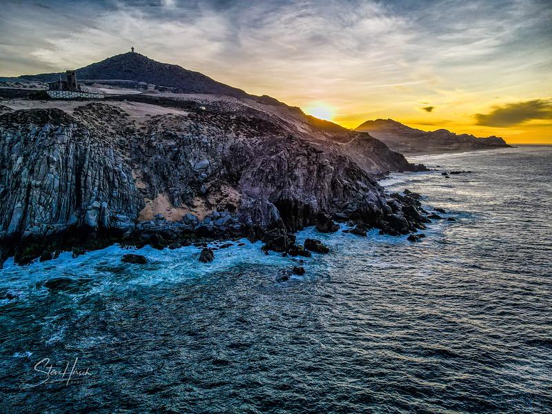 Cabo cliffs drone