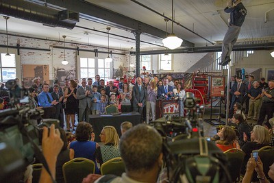 3-27-18 PTSD Benefits for First Responders Bill Signing at Tampa Firefighter Museum
