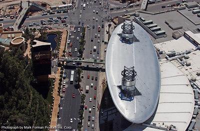 Aerial Views of the Wynn, Las Vegas
