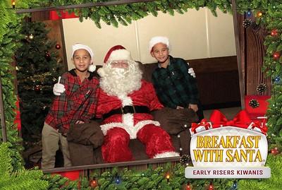 Kiwanis Breakfast with Santa 2019