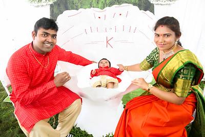 Cradle Ceremony of Karthikeya