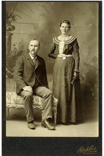 Ernst and Caroline (Bauer) Schuld