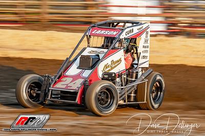Grandview Speedway - USAC Midgets - 7/30/19 - Dave Dellinger