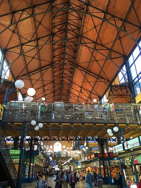 Central Market Hall - 48 hours in Budapest