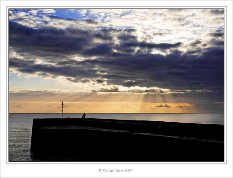 Harbour breakwater - early morning (73111644).jpg