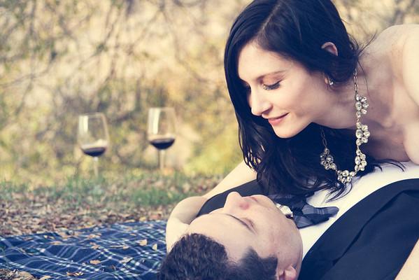 Christina & Jeff / Los Feliz and Griffith Park Engagement