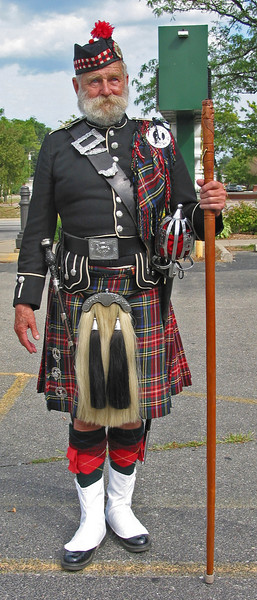 Scottish man at the Heritage Festival - Eastpointe, Michigan