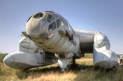 Bartini Beriev VVA-14. A Soviet Union Vertical take-off Amphibious aircraft.