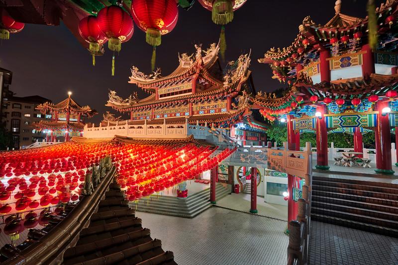 A Chinese Temple In Kuala Lumpur