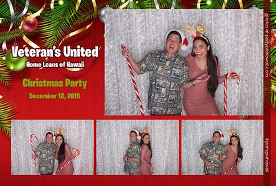 Veteran's United Christmas Party (LED Open Air Photo Booth)